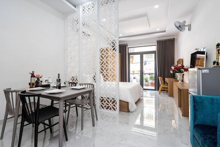Enjoy with Stunning Balcony in Central APT#FULLY