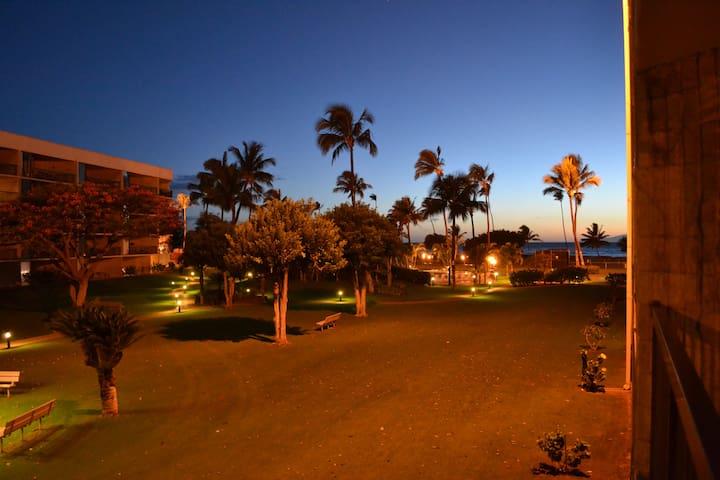 Maui Sunset ocean front 1bd, 2ba condo -Large Pool