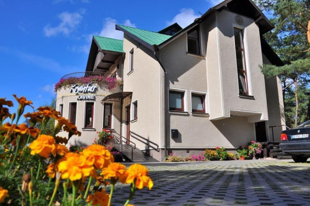 Vila Krantas front view