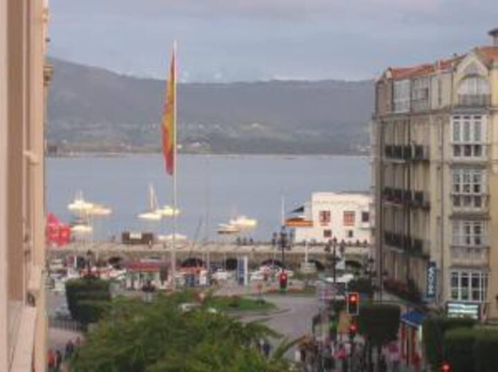 Habitación en centro Santander, Puerto Chico