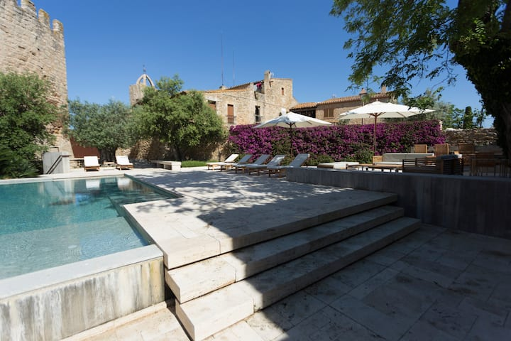 DECÔ - HOUSE CASTLE IN PERATALLADA - PRIVATE POOL