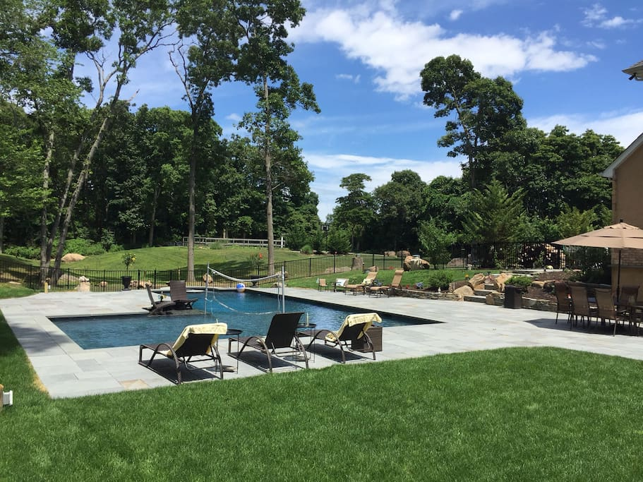 Pool and yard