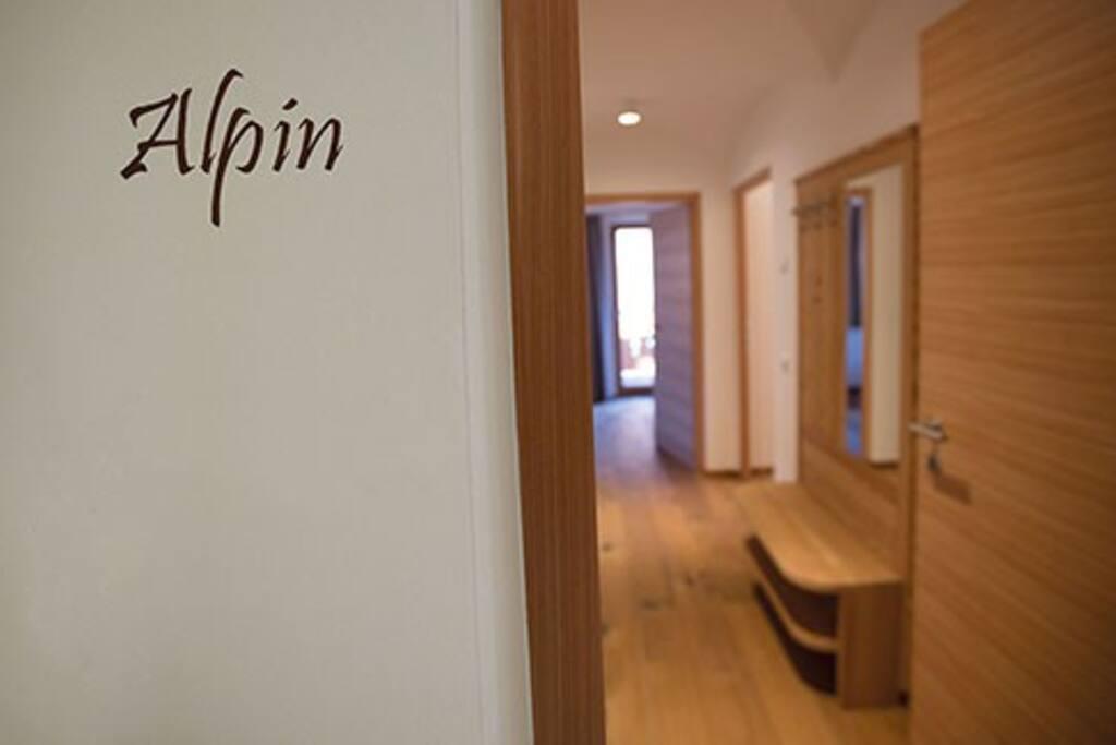 Wohnung Alpin für 4 bis 6 Personen im Urlaubsgebiet Seiser Alm - Gröden