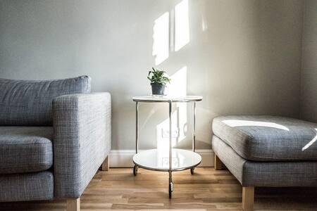 A sunny apartment in central Riga