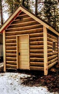 Joshua Deets Historic Cabin - Kalispell - Blockhütte