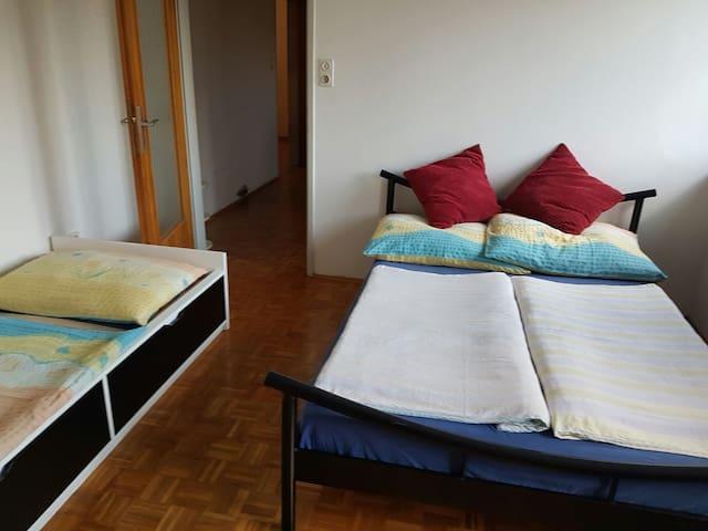 Gemüdlicher zwei Zimmerwohnung - Schörfling am Attersee - Daire