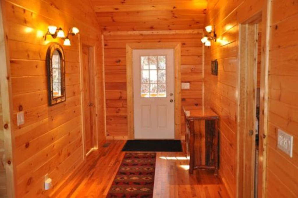 Beautiful Wood Interior Throughout the Cabin