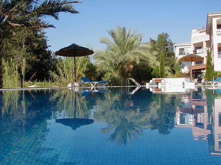 Joli appartement, proche mer, Kato Paphos - Chypre