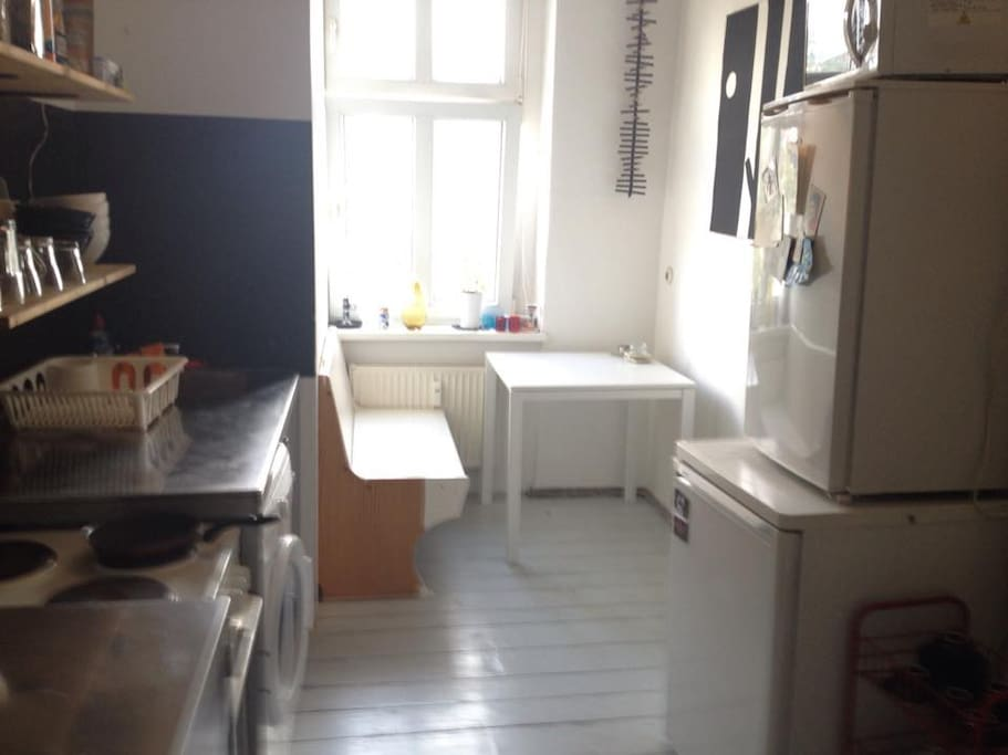 Kitchen. Clean and has lots of appliances!