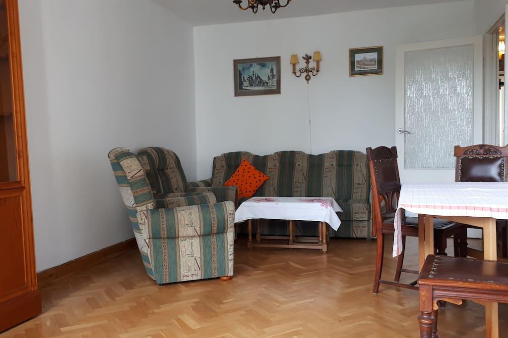 Główny pokój - sypialnia 1
