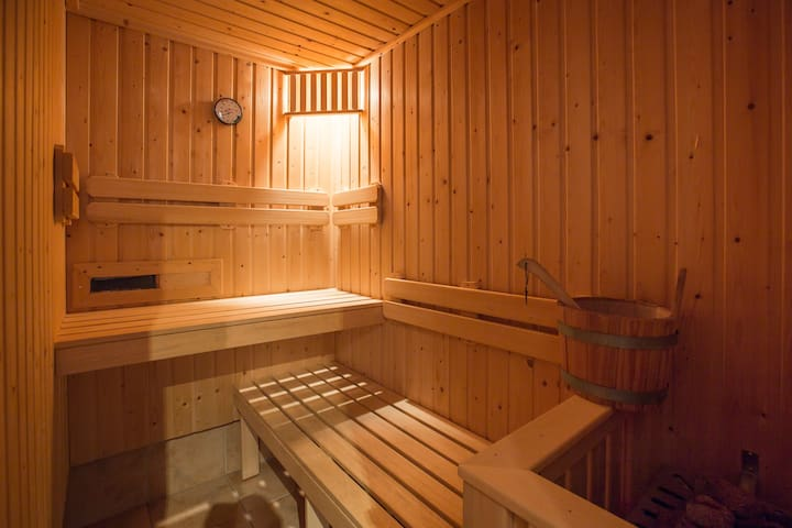 Amazing! Luxury 4-room apartment 110m2 + own sauna