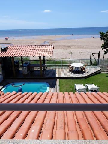 ITAPARICA, praia de Aratuba, Bahia- PÉ NA AREIA