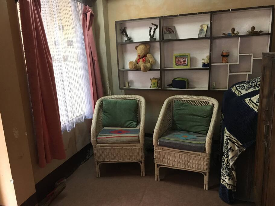 sitting area within room