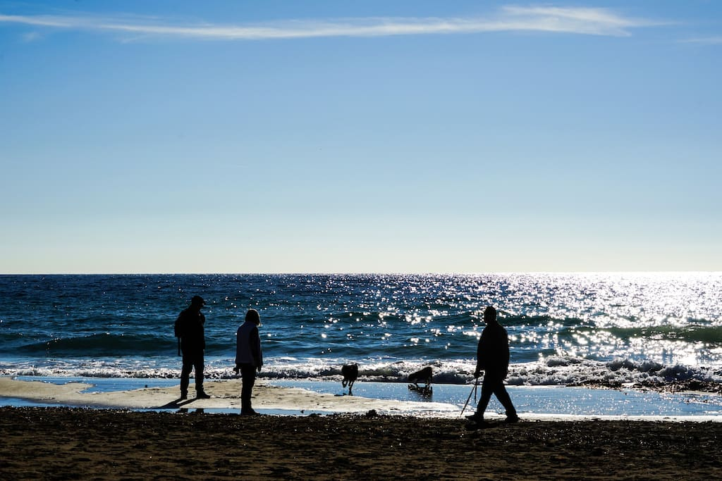 La playa Moraira