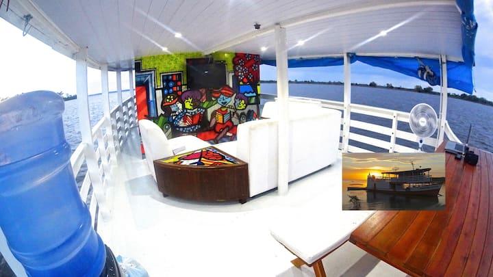 Barco Amazonico Santarem Discus