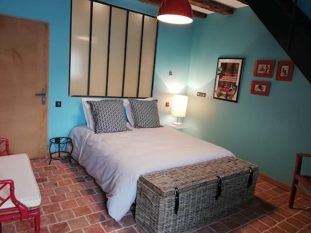 Touraine, Les Granges de l'Epan, suite 2 chambres