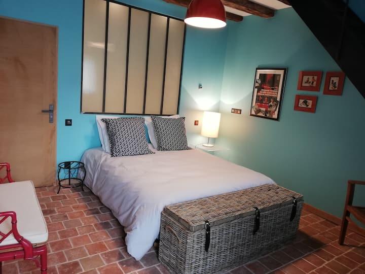 Tours, duplex 2 chambres, Les Granges de l'Epan