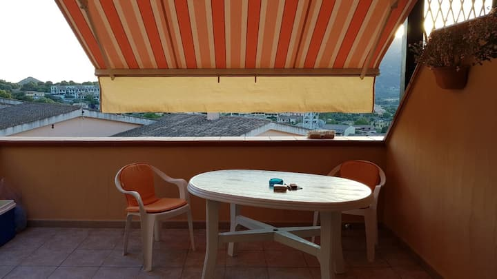 Holiday Home 'Casa a pochi passi dal centro' with Balcony & Terrace; Street Parking Available