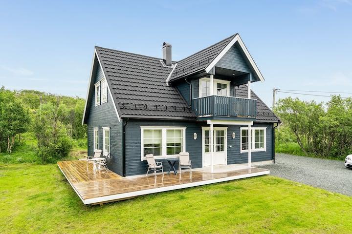 Koselig hus på Hamnneidet