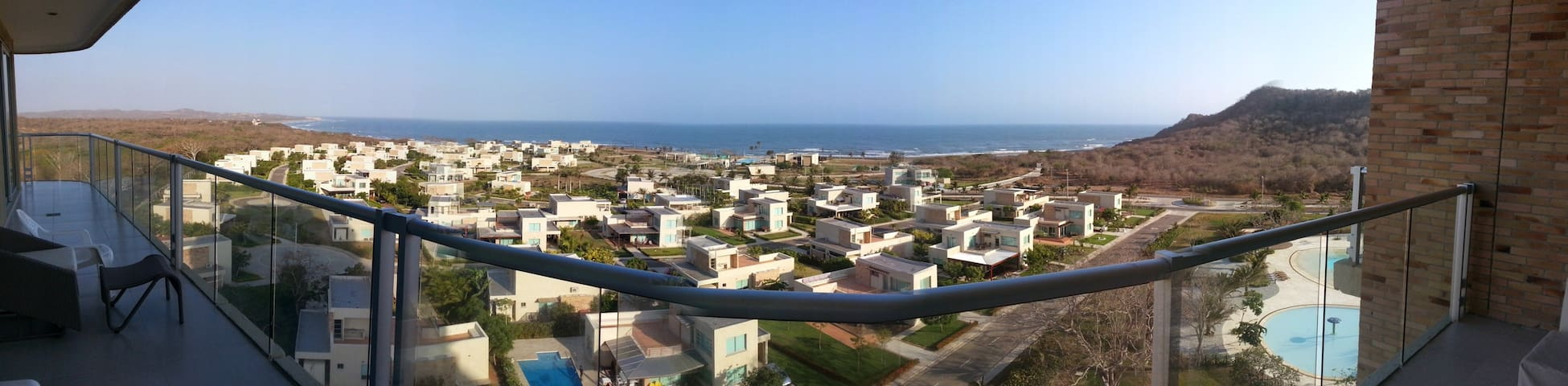 Bello apartamento junto al Mar - Atlantico - Flat