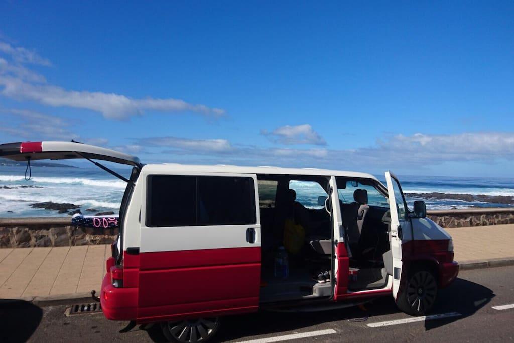 campingbus vw t4 bulli multivan superhost wohnwagen. Black Bedroom Furniture Sets. Home Design Ideas