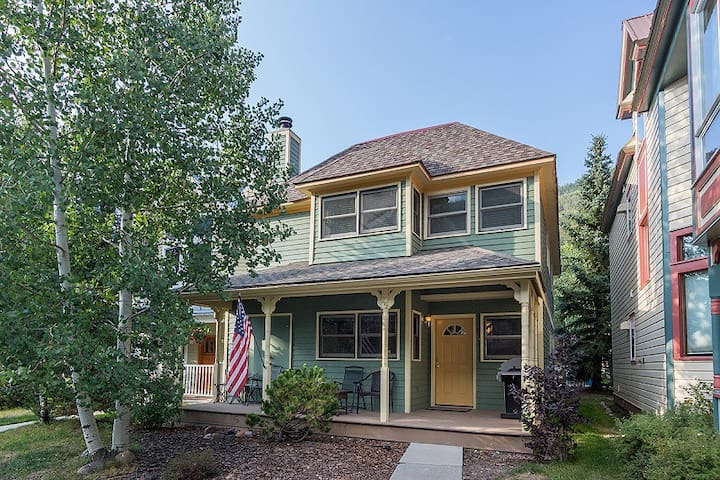 Walk to the Slopes from this Incredibly Located & Comfortably Furnished Freestanding Downtown Telluride Home