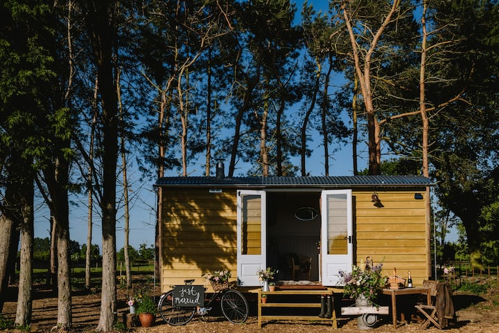 Godwick Shepherd's Hut - The Herdwick Hideaway