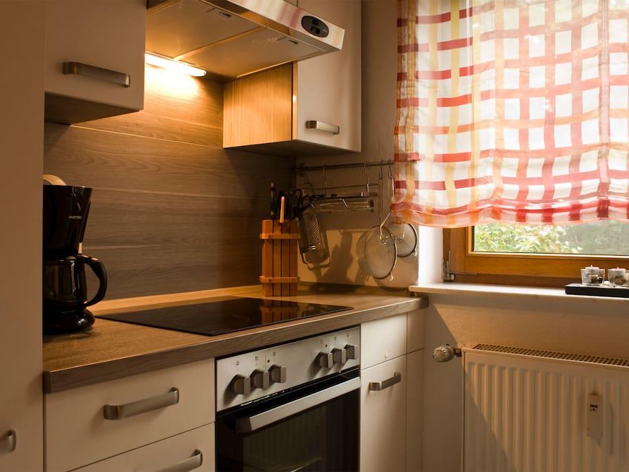 Die Einbauküche linke Seite