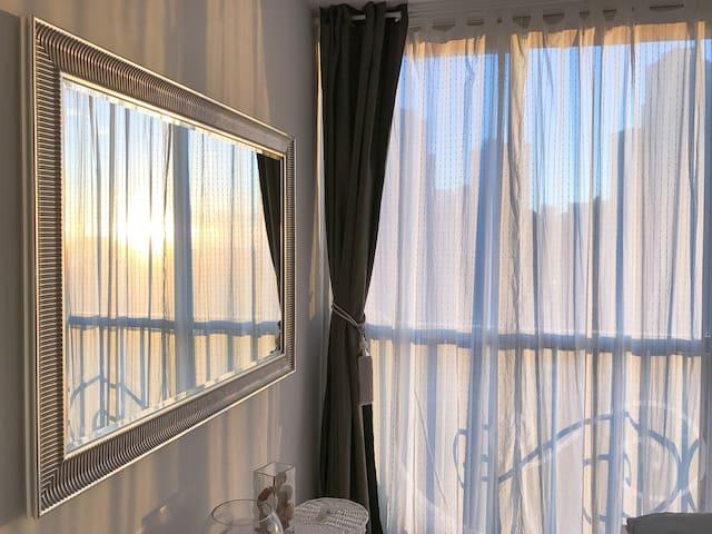 Acogedor apartamento con vista impresionante