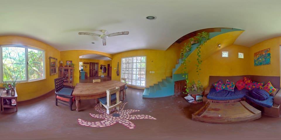 Comedor y sala completa