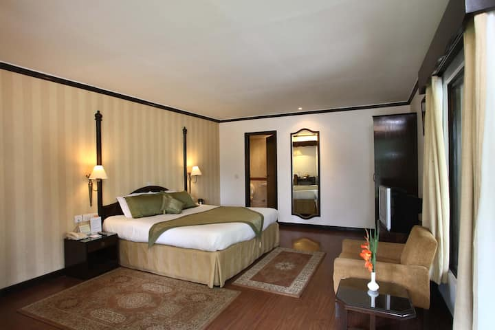 Premium room in a boutique hotel in Nainital