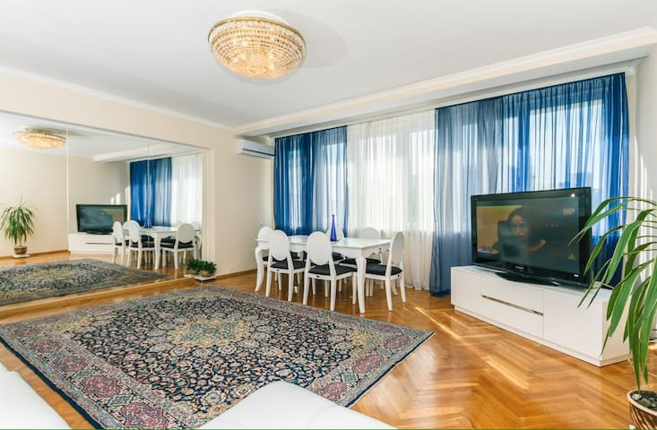 Apartments in the residential complex Almaty
