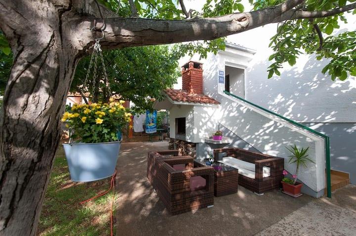 Studio flat with air-conditioning Turanj, Biograd (AS-6445-b)