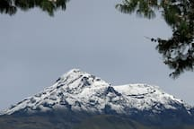 Enjoy the beauty of Cotacachi Volcano and it's surrounding areas.