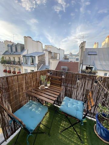 Duplex cosy & agréable - Marais