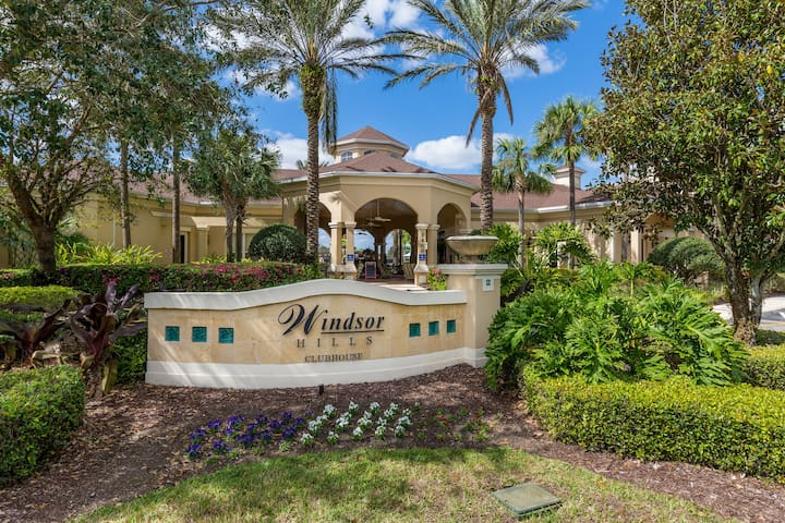 Windsor Hills Luxurious 3bed/2bath-Close to Disney