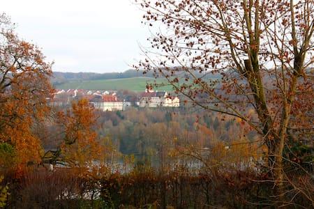 Zimmer mit Ausblick und Terrasse - Seefeld-Hechendorf - Casa