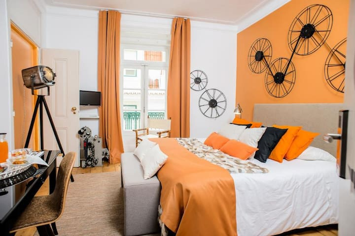 No Limit Bairro Alto - Double Room with Shared WC