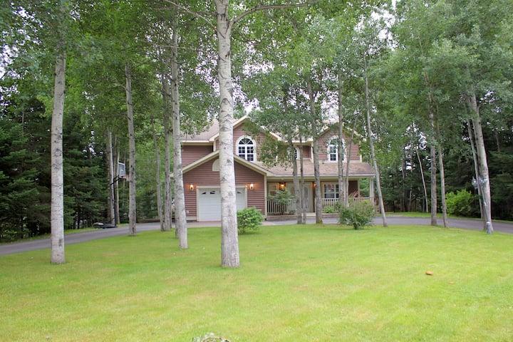 Elegant home nestled in rural  Newfoundland, CA