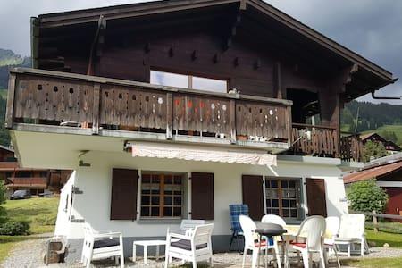 Vacances en Suisse à la mon tagne aux Diablerets