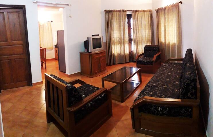 1bhk beach apartment in lotus hermitage