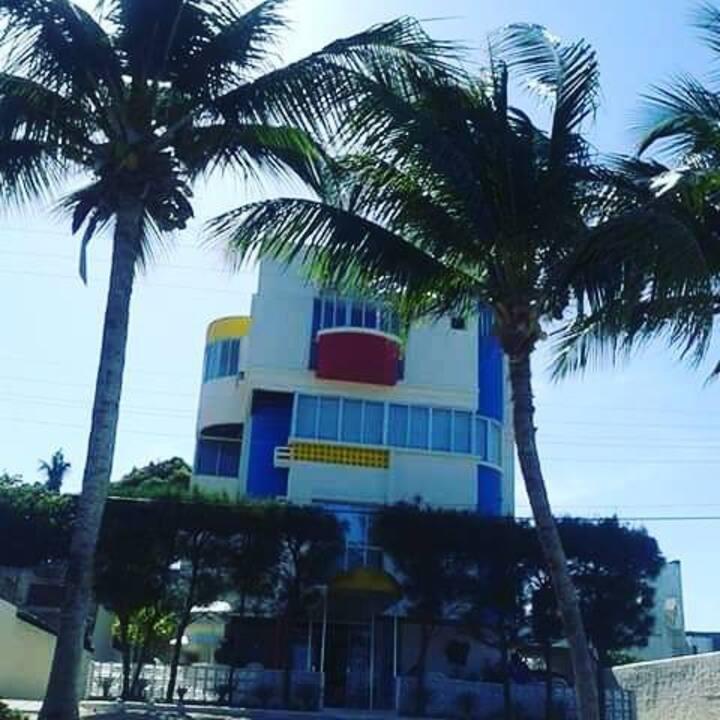 Apartamento à beira mar na Praia Formosa, Cabedelo