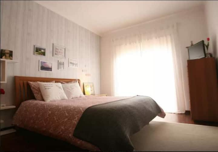 Bedrooms 400m from the Beach