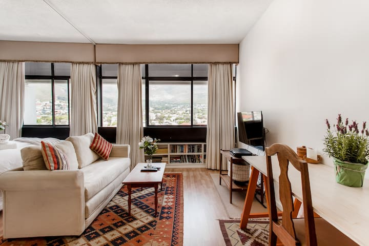 Secure Central Studio with Awesome Amenities