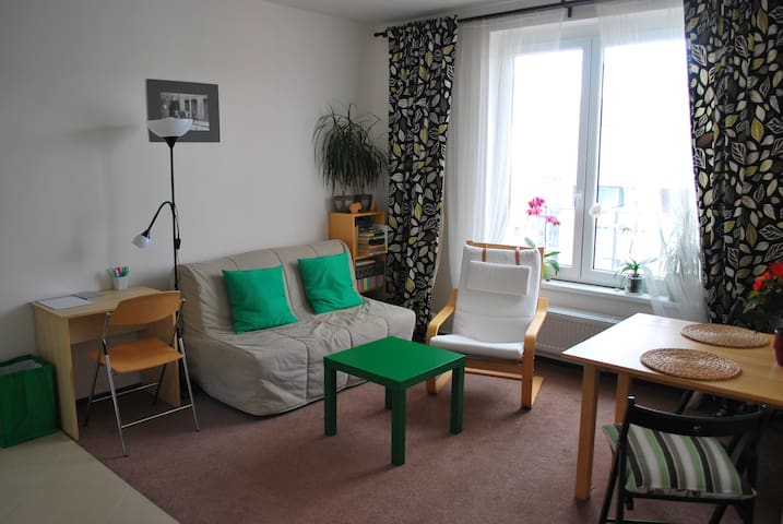 Cosy and calm studio with excellent accessibility - Prag - Daire