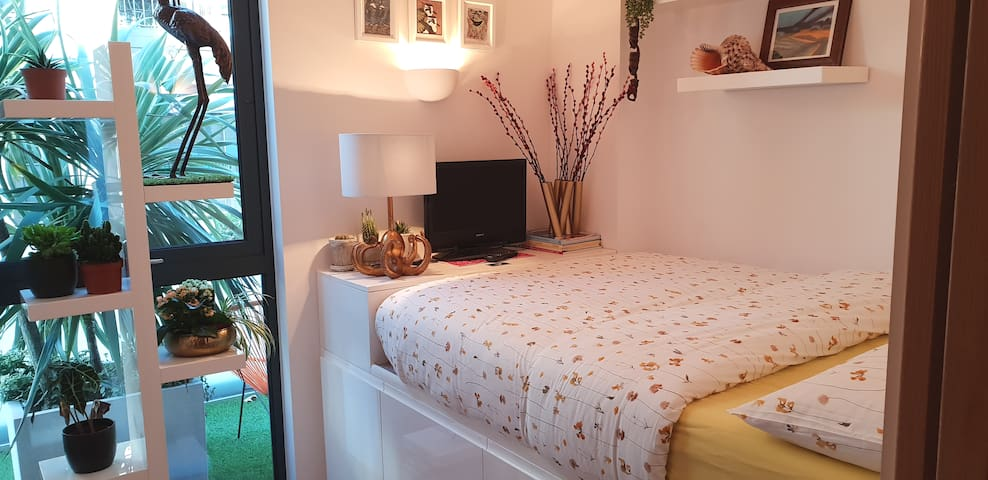 London Camberwell - beautiful garden double room