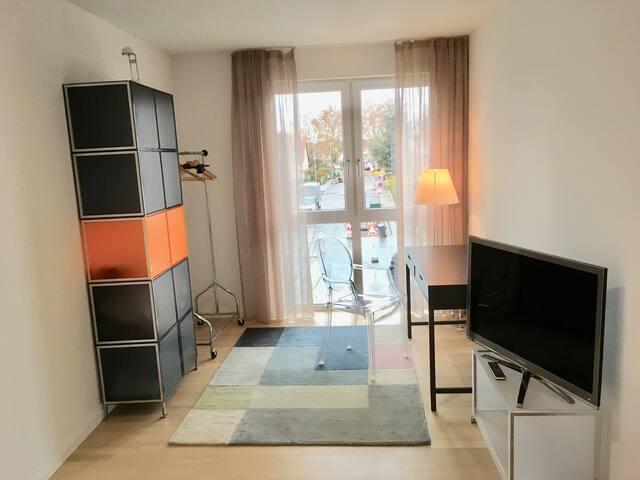 Gästezimmer in Neubau mit eigenem Duschbad