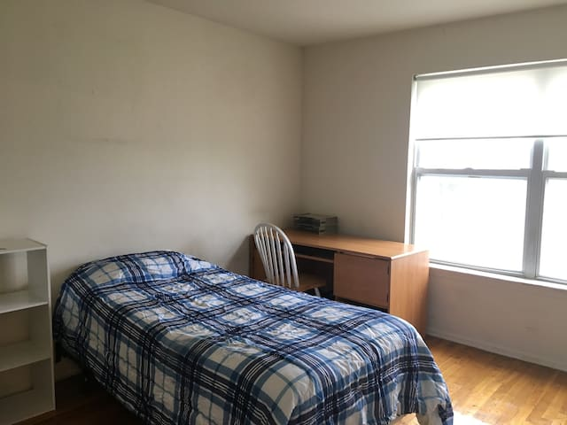 nice/cheap bedroom close to Rutgers and train - Piscataway Township - Appartement