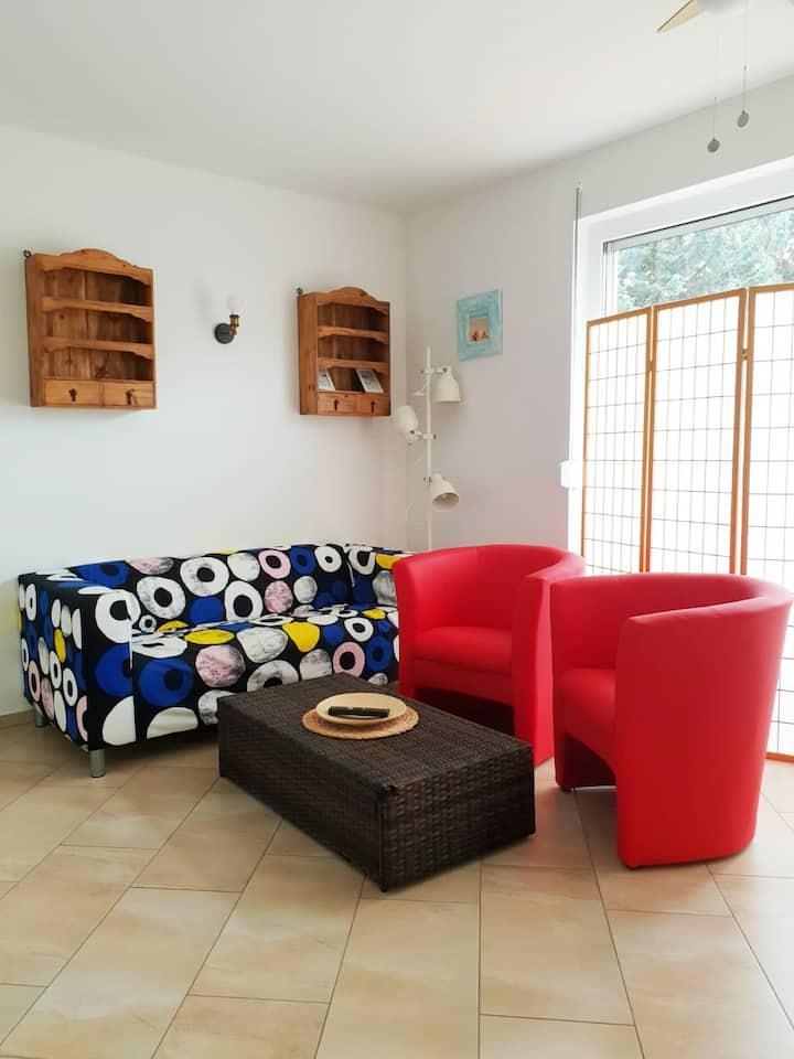 Moderne Wohnung beim Windmüller 2 (Terrasse,Sauna)