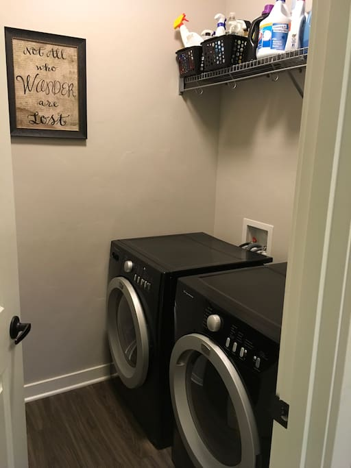Laundry room with all supplies